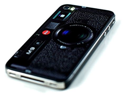 Casing Iphone 4 4s A Beautiful Mess App Custom Cover iphone 4 turns into a leica m9 leica rumors