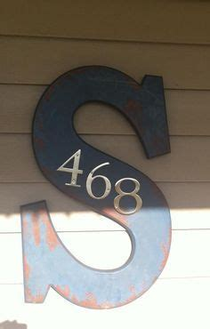 Front Door Numbers And Letters 25 Best Ideas About Front Door Numbers On House Address Numbers Address Numbers