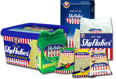 Biscuit Magic Cracker Sandwich skyflakes crackers from the philippines like a cross