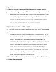 Mba 101 Assignment 2 by Au Course