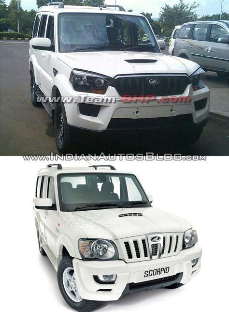 mahindra scorpio new models vs new new mahindra scorpio vs model