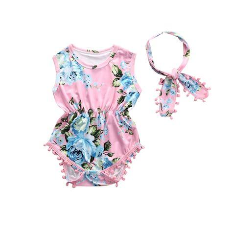 baby floral one 2 pcs baby floral bodysuits newborn infant babies