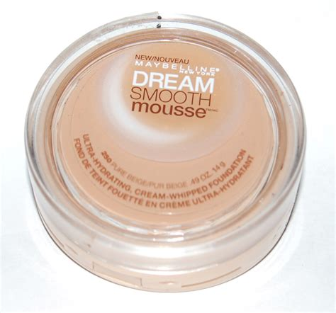 Maybelline Smooth maybelline smooth mousse color beige 250