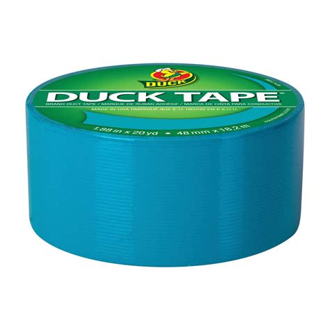 color duct color duct aqua 1 88 in x 20 yd duck brand