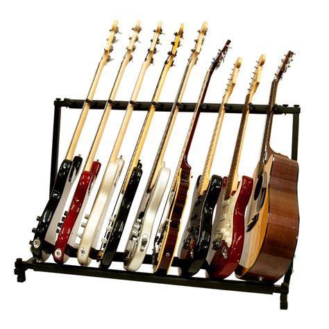 Guitar Storage Rack by 9 Guitar Folding Rack Storage Organizer Stand