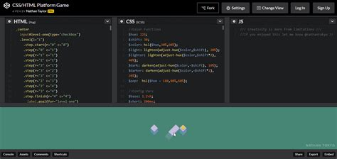 css tutorial game pure css platform game html5 game development