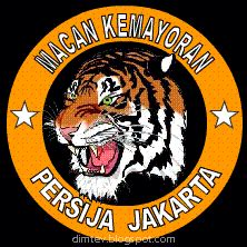 Baju Kaos Persija Kemayoran Hitam gambar persija jakarta lambang macan kemayoran terbaru
