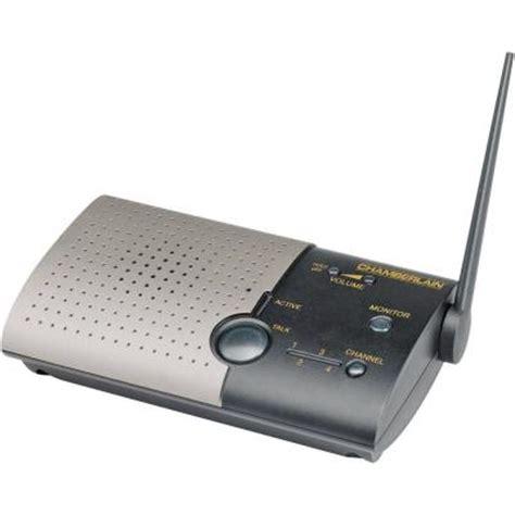 chamberlain add on wireless portable intercom nls1 the