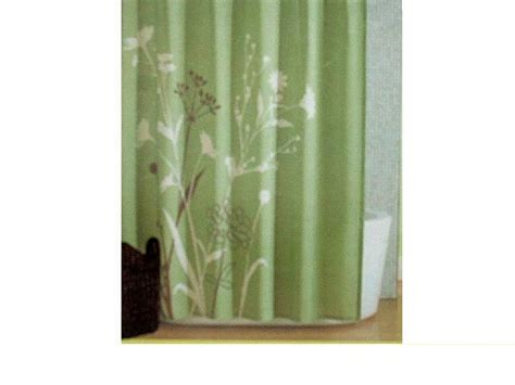 green fabric shower curtains green floral fabric shower curtain marmon