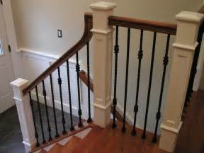 banister and baluster lomonaco s iron concepts home decor new railing and