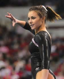 The hottest female gymnasts