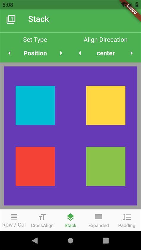 flutter layout tutorial fluttercore