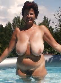 mature with saggy hanging tits and big ass