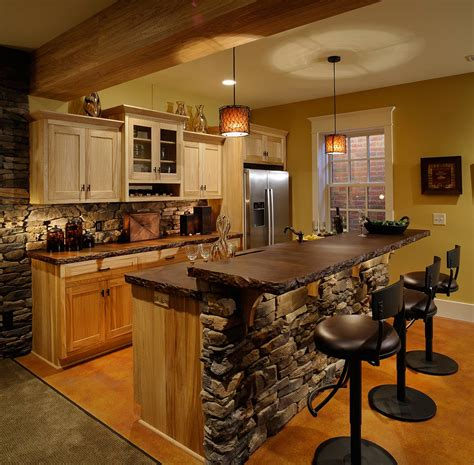 kitchen rock island rock your home with interior accents