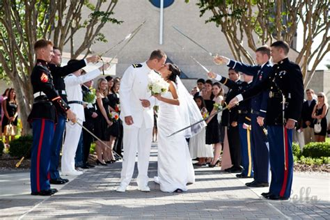 wedding arch of swords pictures