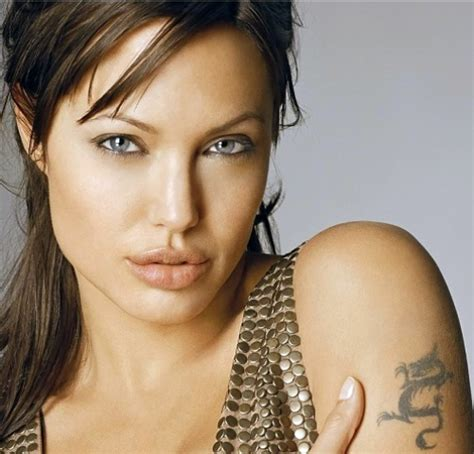Angelina Jolie Tattoo Model | celebrity angelina jolie tattoos designs
