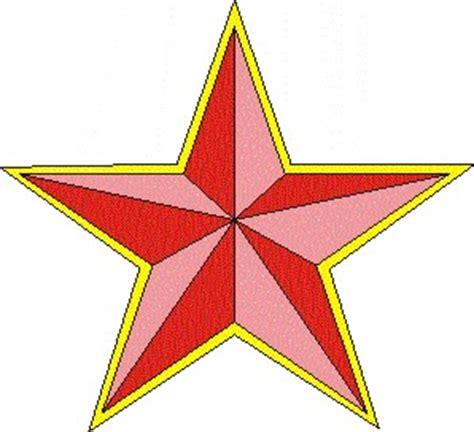 gambar tato bintang berwarna pikiran batur tutorial corel draw membuat