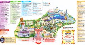 disney california adventure 2007 park map