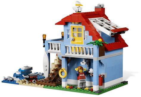 lego casa lego creator 7346 pas cher la maison de la plage
