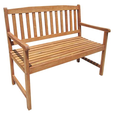 hardwood bench seat charles bentley hardwood wooden 2 3 seater patio bench