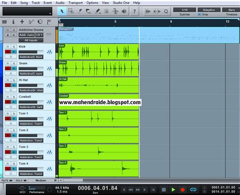 addictive drums studio one mahendraide merekam addictive drum di studio one