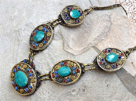 ethnic collection of tribal jewelry design trends