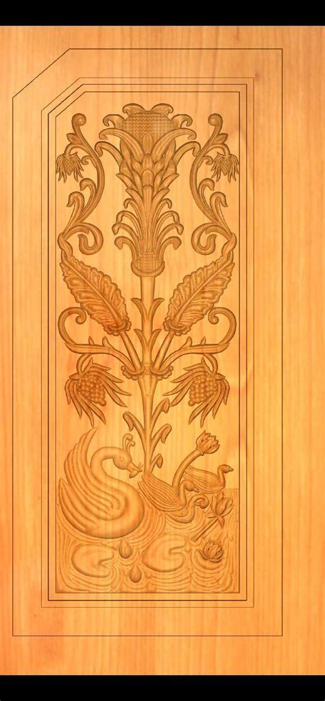 single door single door wood carving works