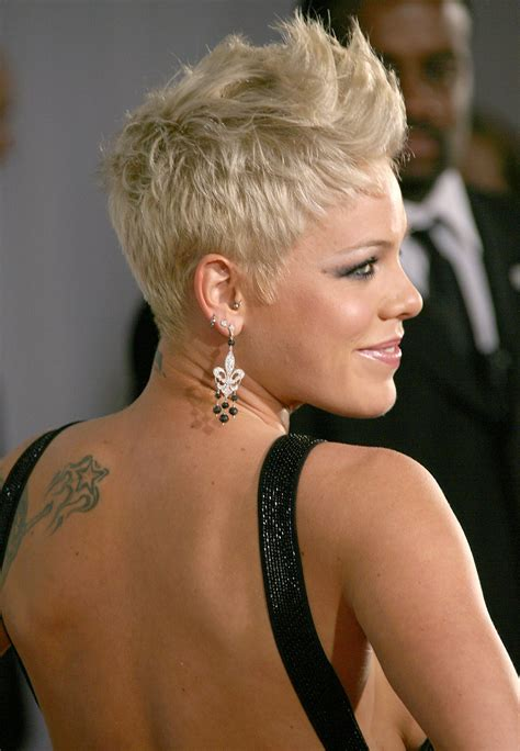 blonde pixie haircut tattoo pictures to pin on pinterest photo on blastro