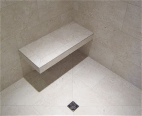 installing granite shower bench five contractor spotlight battles battles tile