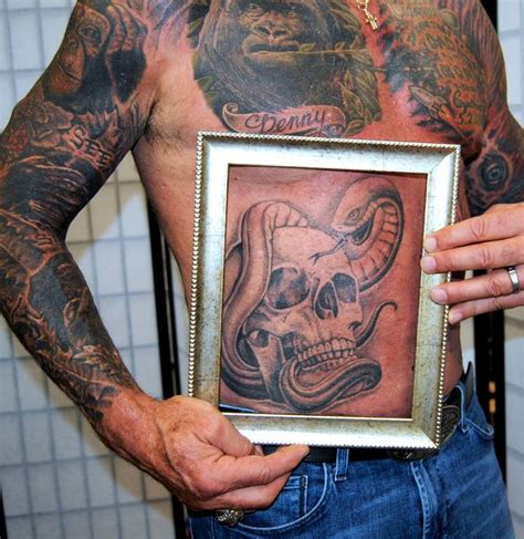 preserving tattoos after death postmortem preserved tattoos