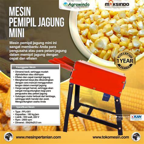 Mesin Pemipil Jagung Maksindo mesin pemipil jagung mini harga hemat toko mesin
