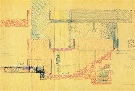 Drawing Plan carlo scarpa ga document 4 1981 9 rndrd
