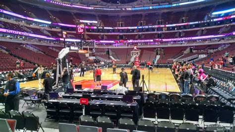 section 116 united center chicago bulls united center section 116 rateyourseats com