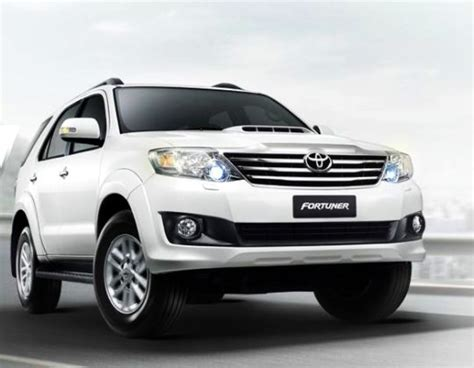 2012 Toyota Fortuner Revealed Thailand Chiang Rai Times