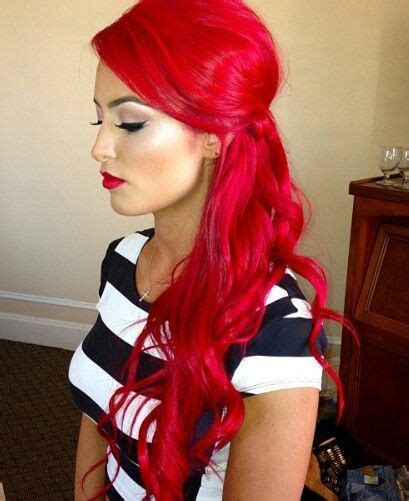 eva marie hair color line wwe wrestler eva marie does red hair the right way red