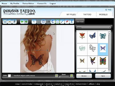 tattoo editor tattoos designs gallery