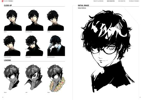 the art of persona the art of persona 5 preview pages new november 3 2017 release date persona central