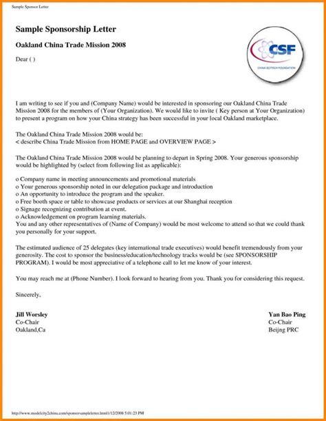 Sponsor Letter Nz sle letter for sponsorship request template