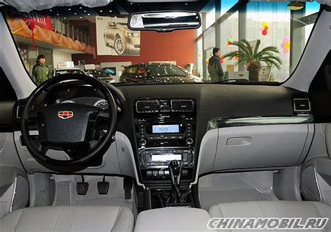 Geely Emgrand Interior by Geely Emgrand Ec8 Interior