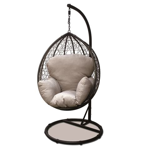 outdoor swinging egg chair outdoor furniture covers bunnings design a room