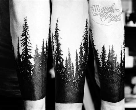 dark forest tattoo designs 40 and cool forest ideas bored