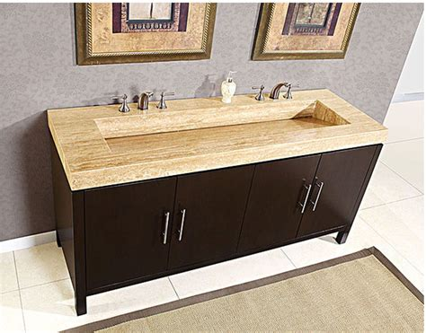 Floor And Decor Granite Countertops by Silkroad Exclusive Double 72 Quot Bathroom Vanity Hyp 0227 72
