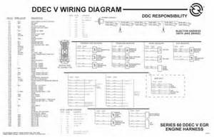 ddec iv ecm wiring diagram circuit diagram free
