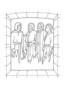 shadrach meshach and abednego coloring page shadrach meshach and abednego