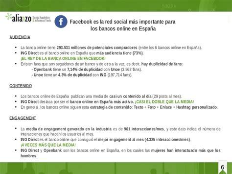 bench en español banca online espa 241 a en social media marzo 2015