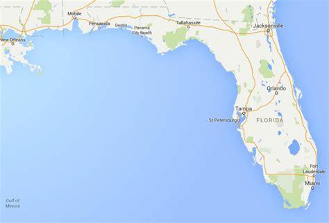 florida on the map maps of florida orlando ta miami and more