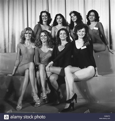 7 Things From The 1980s I Miss by Contestants Hoping To Be Crowned Miss World 1980 Back Row