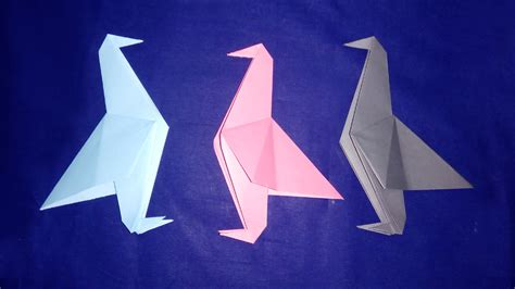 Paper Origami Bird - origami bird origami bird easy tutorial for