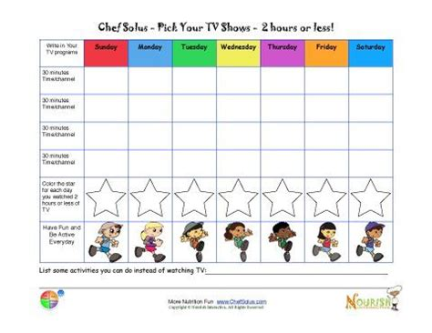 Pocket Money Tester By Laris Ace limiting tv time chart for printable tracking sheet