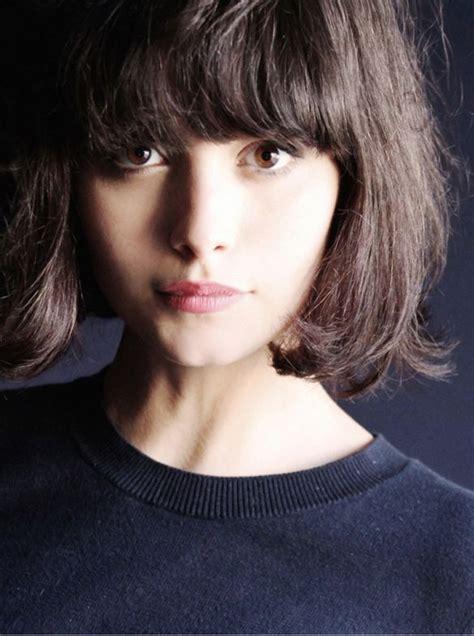 medium bob hairstyles on heavy women best 25 heavy bangs ideas on pinterest short hair with
